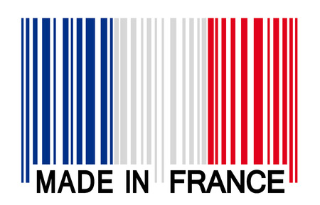 bar code - Made in France Vector