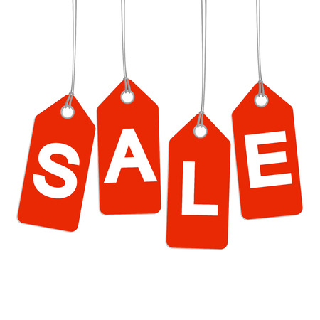 SALE - red hangtags