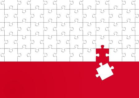 zakelijke puzzel - het don t past