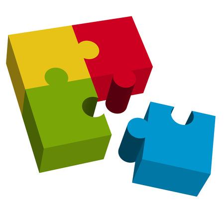 Puzzle 3D LAVORO DI SQUADRA