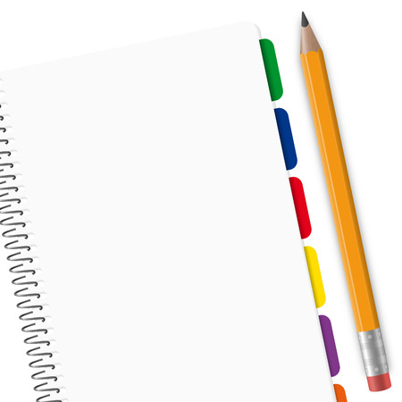 agenda with space for text