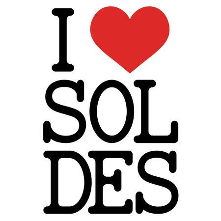 selling off: I love soldes