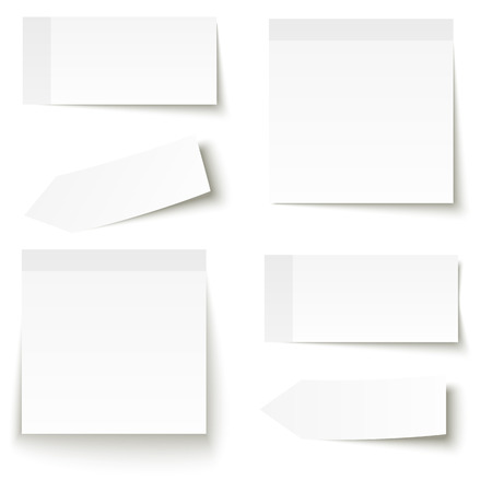 collection of sticky notes