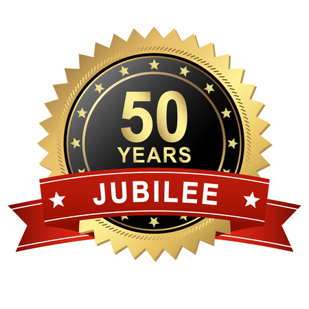 50 years jubilee: seal jubilee - 50 years