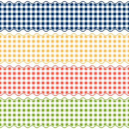 banderole: checkered table cloth banners