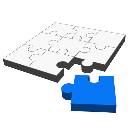 puzzle - it fits   Illustration
