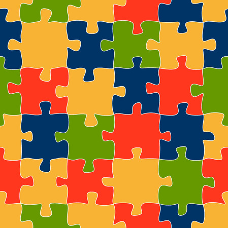 puzzling: colored puzzle background seamless