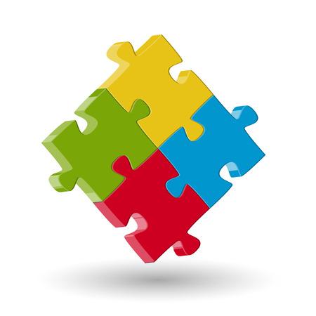 symbolism: teamwork - puzzle symbolism