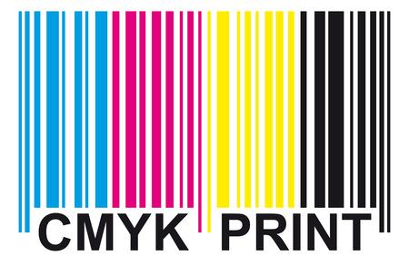 bar code CMYK PRINT