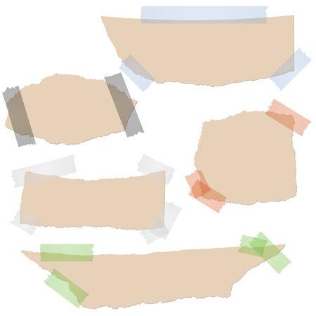 adhesive: rasg� el papel con rayas adhesivas