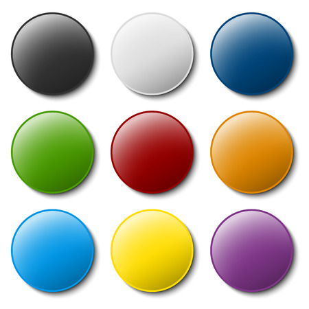 colored pushpin collection