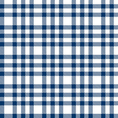 seamless background - blue checkered pattern Vector