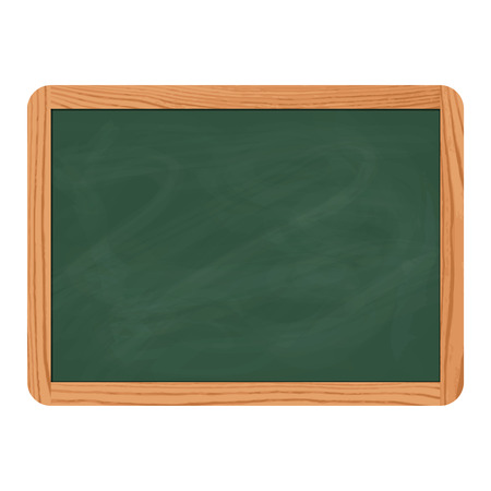 slate: green school chalkboard Illustration