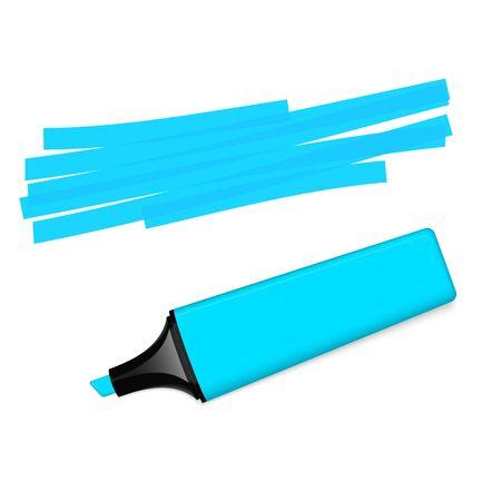 marking: blue textmarker with marking