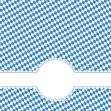 oktoberfest background with copy space Vector