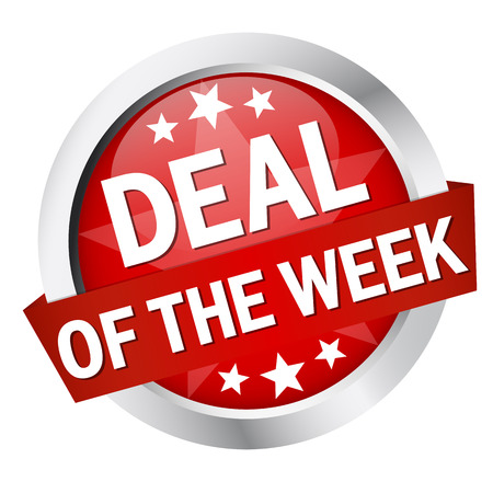 Button - Deal of the week Vector
