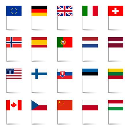 czech switzerland: bandiere del mondo 02