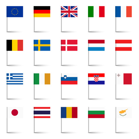 01: flags of the world 01 Illustration