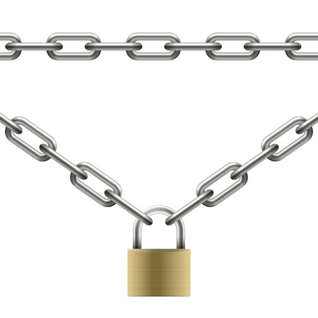lock and chain: chain collection - seamless and with u-lock