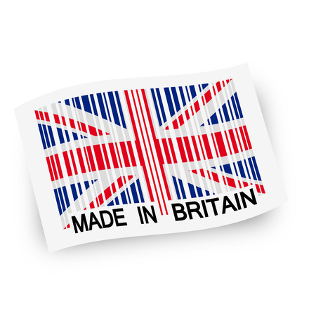 ean: flag MADE IN BRITAIN