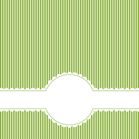 banderole: lined background with banner Illustration