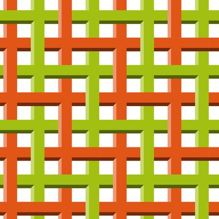 spurious: optical illusion seamless background Illustration