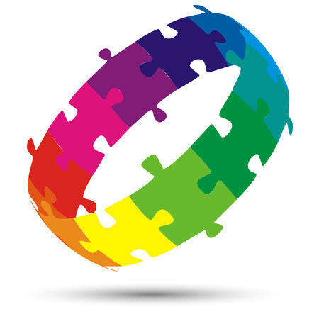 symbolism: interplay teamwork puzzle symbolism