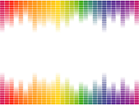 colored backgrounds: seamless background stripes multi colored Illustration