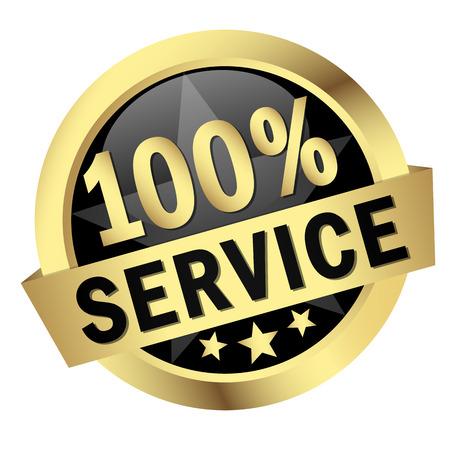 button - 100   SERVICE Illustration