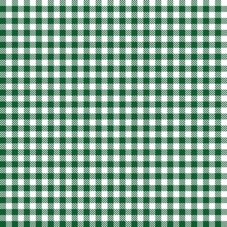 green colored seamless checkered background Vector