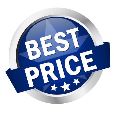 button BEST PRICE Vector