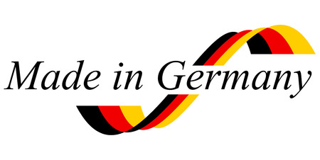 seal of quality - MADE IN GERMANY Vectores