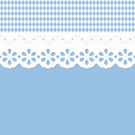 festoon: vector of Oktoberfest background seamless with festoon Illustration
