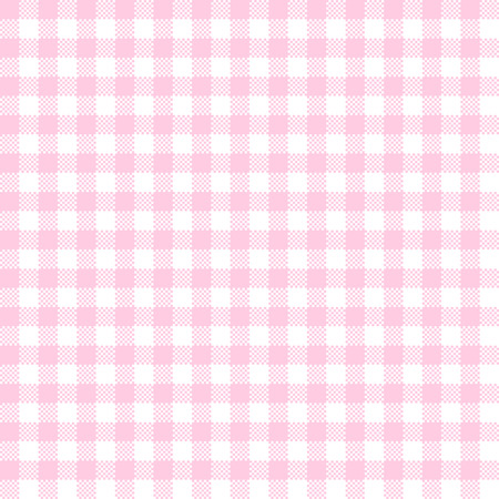 checkered table cloth background pink