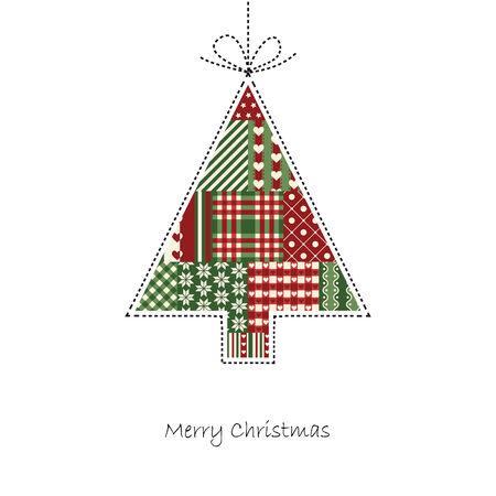 hangtag: tree - Christmas Card