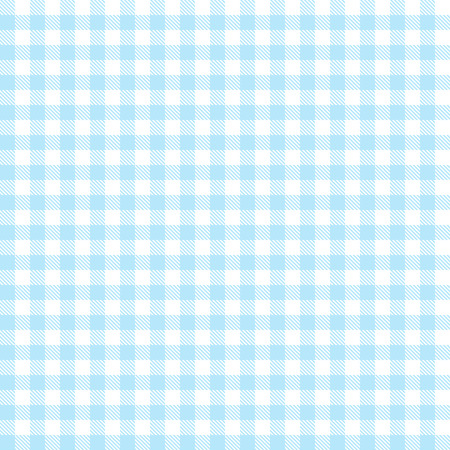 checkered table cloth background light blue