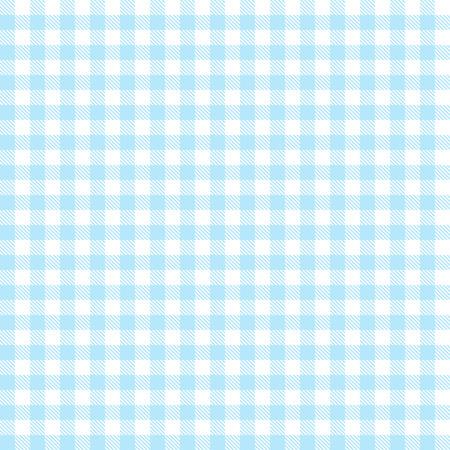 quadratic: tovaglia a scacchi sfondo azzurro