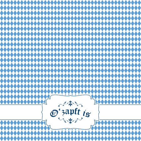vector of Oktoberfest background with banner Vector