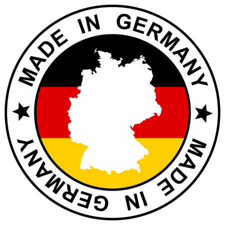 customercare: patch \ made in germany \ Illustration