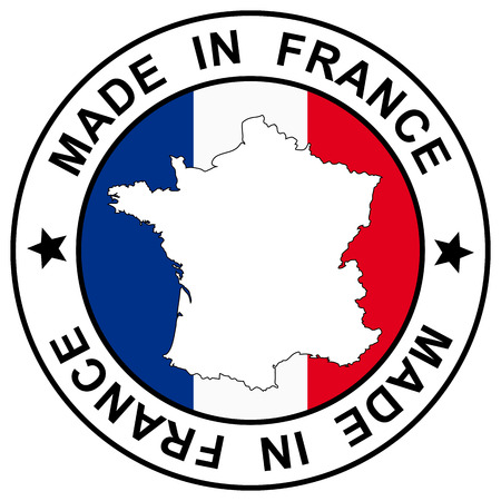 patch \ made in france \ Vector