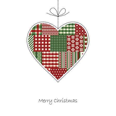 hangtag: merry christmas hangtag heart