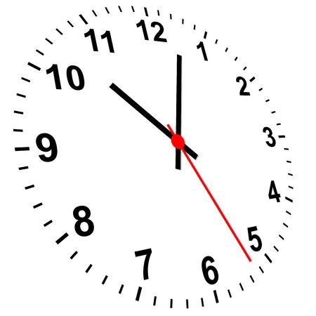 3 D を時計します。
