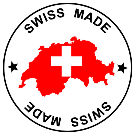 seal of approval: Patch Swiss Made