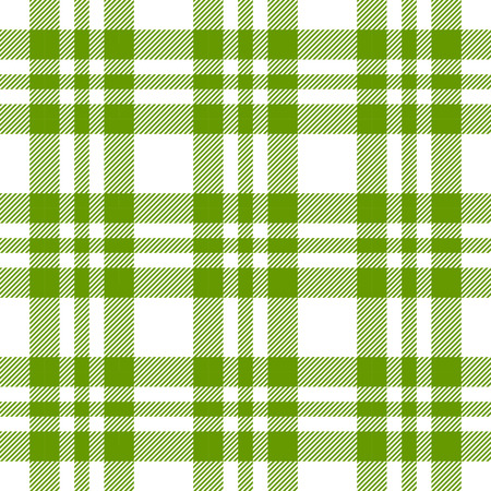 picnic blanket: Checkered tablecloths pattern GREEN - endless