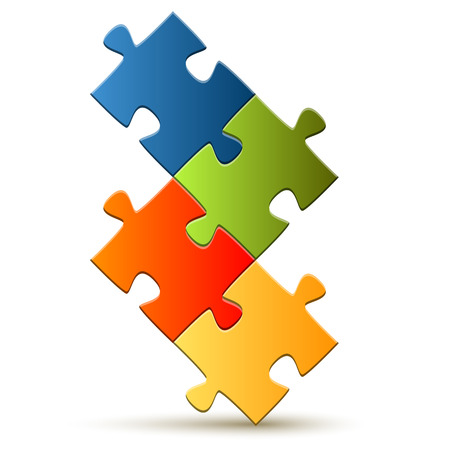 composed: Puzzle - composed four parts