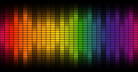 endlos: Digital-Equalizer Hintergrund bunte - endlos