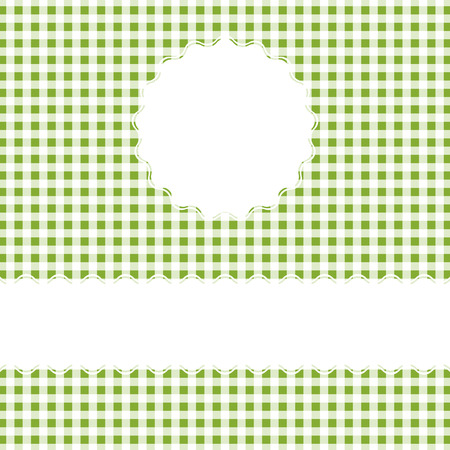 banderole: Checkered Cover Background with space for text Illustration