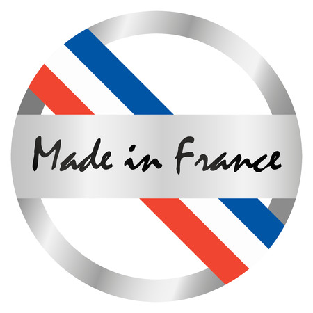 cachet: seal of quality - MADE IN FRANCE Illustration