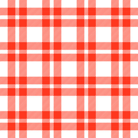 red plaid: colored checkered seamless table cloth background