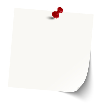 chit: little sticky note with pin neddle